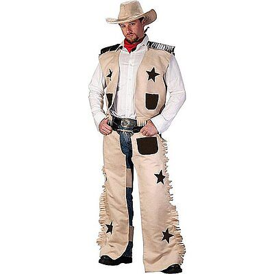 Cowboy Western Wild West Mens Halloween Outfit Fancy Dress Up Stag Party Costume](Fancy Dress Halloween Party)