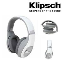 Genuine Klipsch Status On Ear Headphones with In-Line Mic Control - White e42bfb3d36cd
