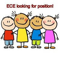 ECE looking for position!