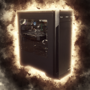Sandstorm Gaming PC - Pentium, 8GB, 120GB SSD   1TB, GTX1050, Win