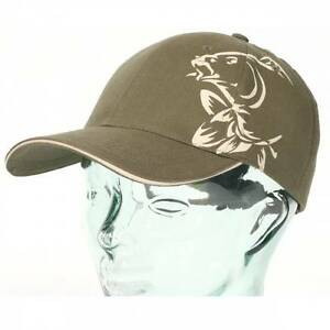 Nash Tackle Baseball Cap Green Brown Carp Fishing Logo One