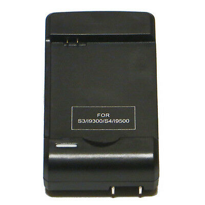 Perceptible Battery Wall Travel Charger Plug for Samsung Galaxy S4 S3 i9300 i9500
