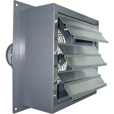 36 Wall Exhaust Fan - Single Speed - 13 Hp - 12000 Cfm - 115230 V - 1 Phase