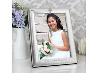 PERSONALISED Engraved Photo Frame. Ideal For Christening or New Baby