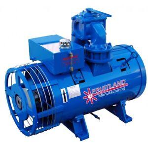Rebuilt Fruitland 1200 Vac Motor c/w Hydraulic Drive Motor
