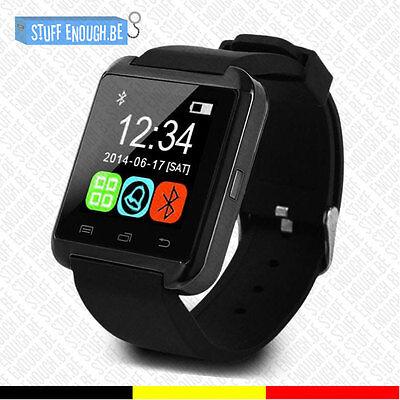 Usado, Originele U80 Smartwatch Montre Connecté Bluetooth Internet Android Black comprar usado  Enviando para Brazil