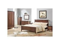 King Size Bed & 2 Bedside Table & Dressing Table Sets & Wardrobes .