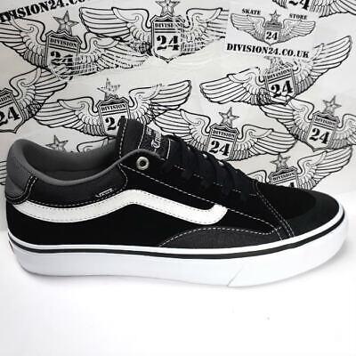 Vans TNT Advanced Prototype Pro Shoes UK10 Black/White Skateboard Tony Trujillo