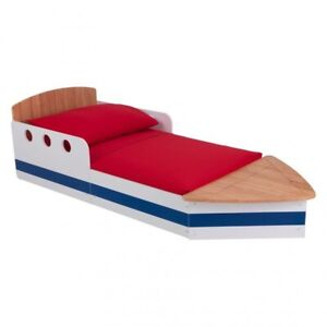 Kid craft boat bed