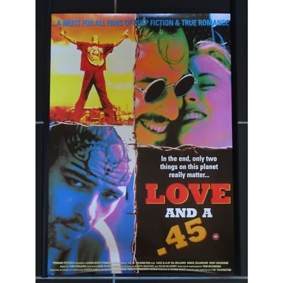 LOVE AND A .45 Mini Movie Poster