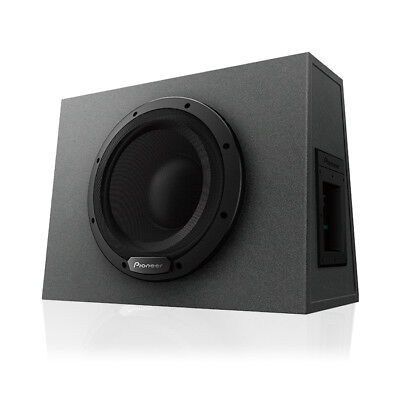 Pioneer Ts Wx1010a 10  Sealed Enclosure Active Subwoofer With Built In Amplifier