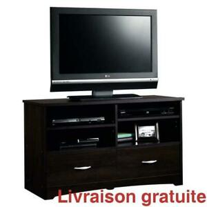 Meuble television jusqua 46 pouces  /  TV Stand with Drawers