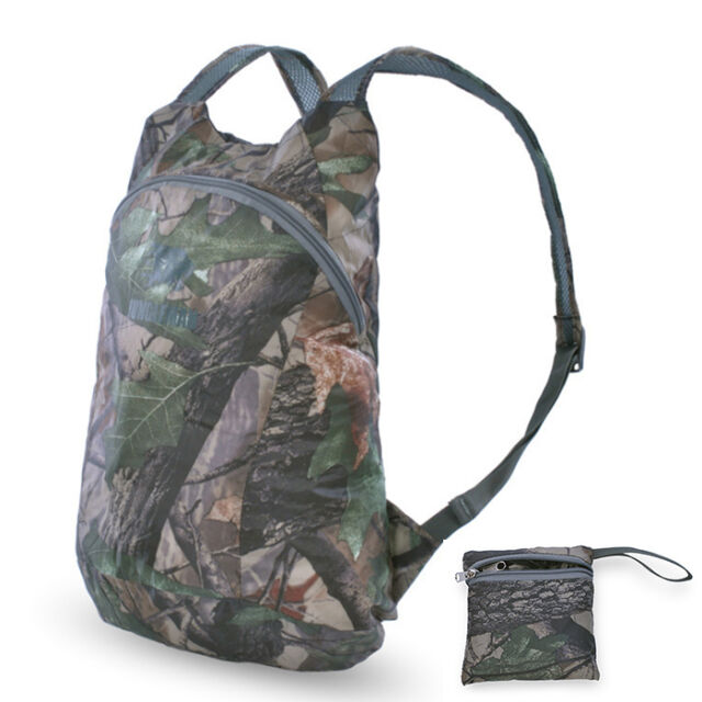 Urltra-light Waterproof Backpack Hiking Folding Bionic Camouflage Camo