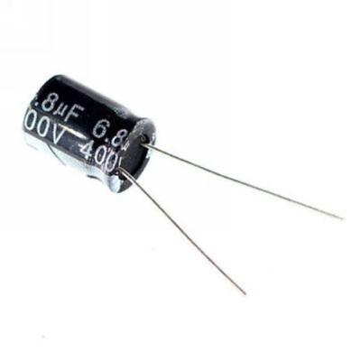 10pcs 400v 6.8uf 400volt 6.8mfd 105c Aluminum Electrolytic Capacitor 812mm