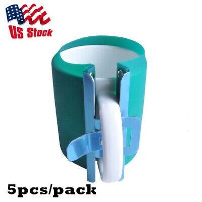 5pcs 3d Sublimation Silicone Mug Wrap 11oz Cup Clamp Fixture For Printing Mug