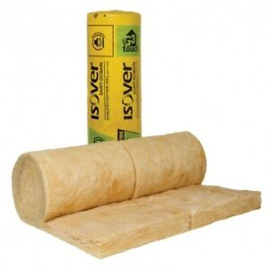 100mm Isover Spacesaver Loft Insulation Roll 10.64m2 FREE DELIVERY