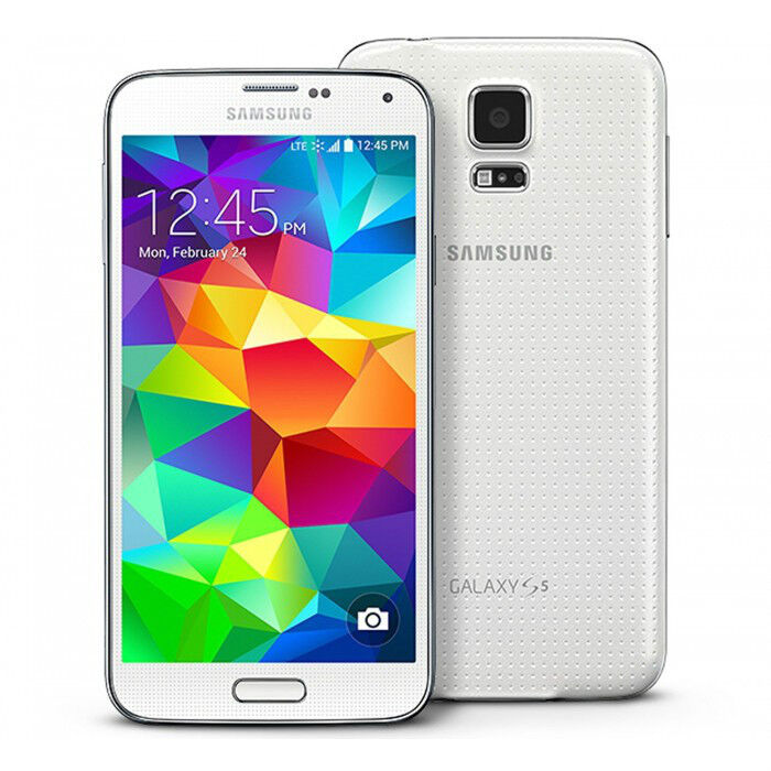 Samsung Galaxy S5, White 16GB