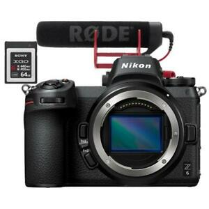 NIKON Z6 MIRRORLESS CAMERA  +BUNDLE