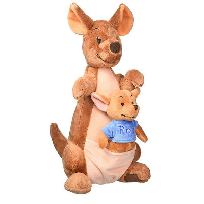 New Official Disney Winnie The Pooh 36cm Kanga & Roo Soft Plush Toy