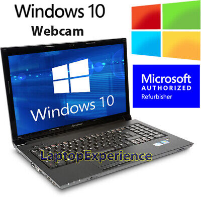 "Laptop Windows - IBM LENOVO LAPTOP THINKPAD 15.6"" WINDOWS 10 INTEL DUAL CORE DVDRW WiFi WEBCAM PC"