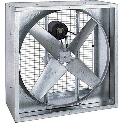 42 Agricultural Exhaust Fan - Belt Driven - 13640 Cfm - 115230 Volts - 12 Hp