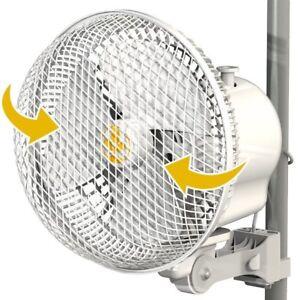 Secret Jardin Monkey Pole Grow Tent Ventilation Fan 20W Oscillating VERSION 2