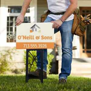 Need a sign for your business? (Yard signs)