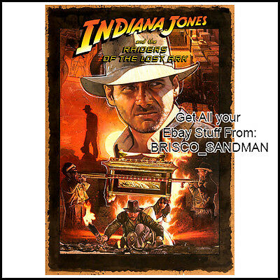 Fridge Fun Refrigerator Magnet Indiana Jones  Movie Poster B  Harrison Ford