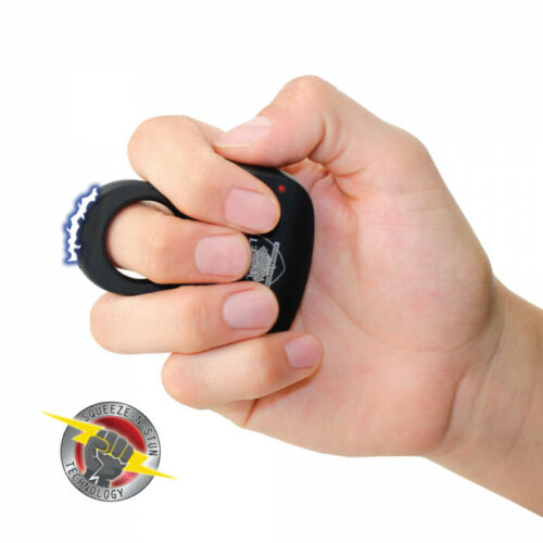 Black Streetwise Sting Ring 18 Million Volt