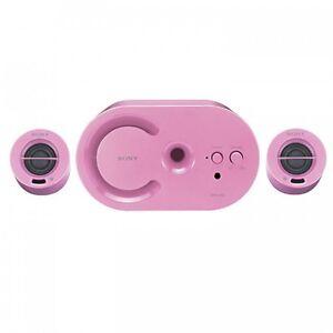 Sony Pink speakers