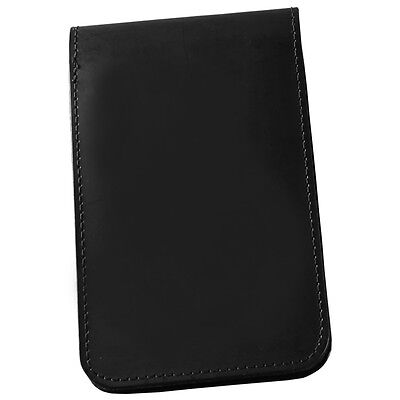 Rainwriter 33-s Black Soft Leather Top Spiral Notebook Cover 3 X 5