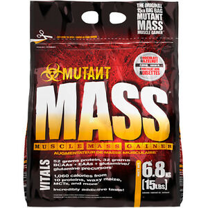 [SELLING] Mutant Mass 15 Lb Weight Gainer Protein Powder