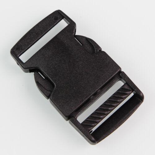 30mm Klemmschloss Klemmschnalle Kunststoff breite 25 od