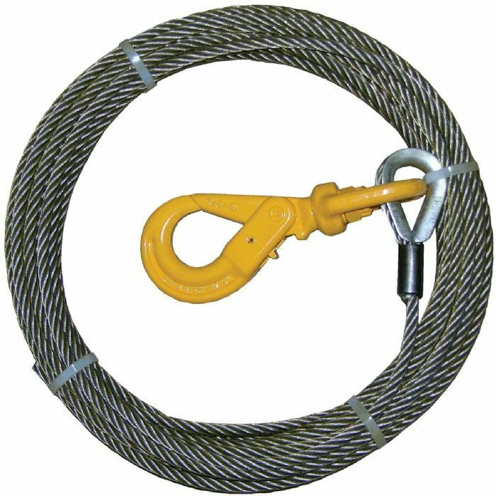 """BA Prod winch cable 4-38PS100LH  3/8"""" x 100"""