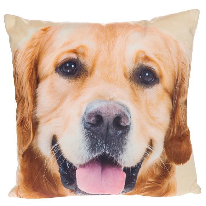 "18/"" Cushion Cover Dark Brown Chocolate Labrador Dogs Retriever Lab Dog Duck Egg"