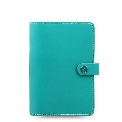 The Filofax Original Personal Size Organizer Turquoise Ay-022597
