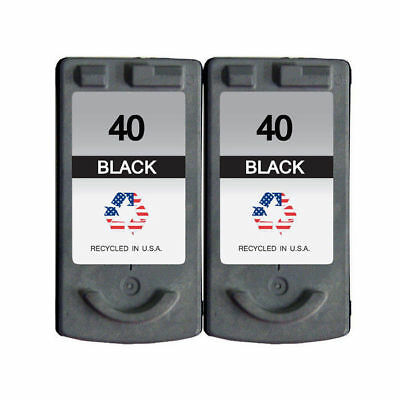 2 PK for Canon PG-40 Ink Cartridges FAX JX200 PIXMA iP1600 MP140 MX310 MP450  Canon Fax Inkjet Cartridges