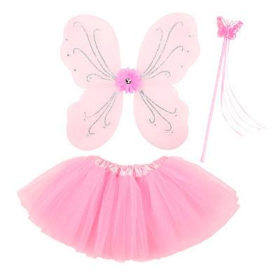 NEU Kostüm-Set magische Fee, rosa, -