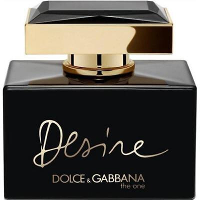 - D & G THE ONE DESIRE INTENSE Dolce & Gabbana Perfume 2.5 oz edp NEW tester WITH