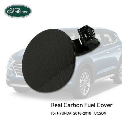 Real Carbon Fuel Cover for HYUNDAI 2016 2017 2018 TUCSON