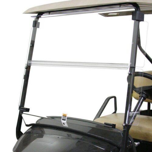 Clear Folding Acrylic Windshield For EZGO TXT & Medalist 1994-2014 Golf Cart