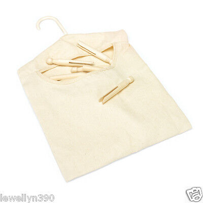 Clothespin Bag By: Homz Holds over 100 Pins