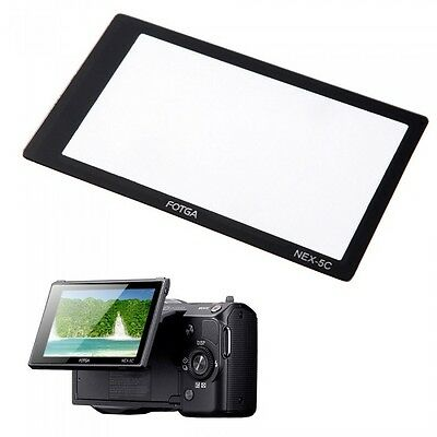 LCD Screen Glass Protector For SONY NEX-3C NEX-5C UK Seller