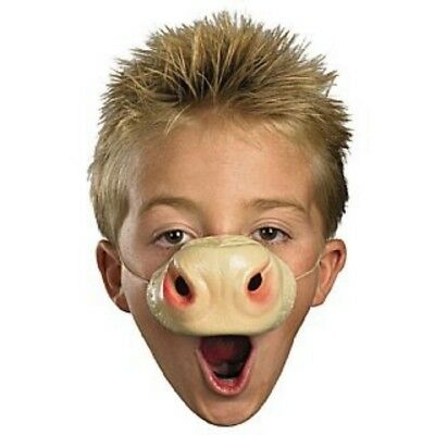 Unisex Nose 'N Around Cow Animal Nose Costume Accessory (Cow Noses)