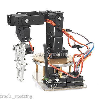 Sainsmart Mechanical 6-axis Control Palletizing Robot Arm Model Diy For Aduino