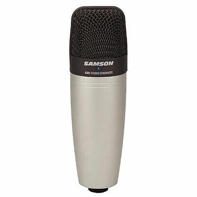 Samson C01 Studio Condenser Microphone (silver)