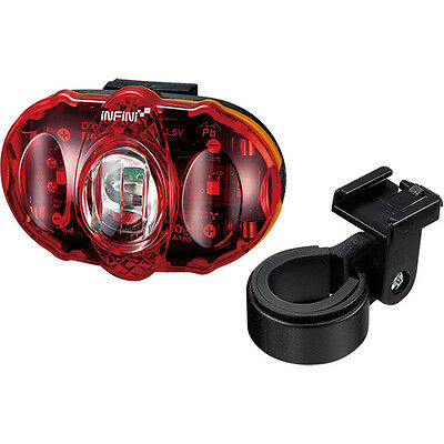 Infini Turbo Chip On Board USB rear light black with red lens blk//red