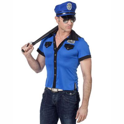 SALE Herren-Shirt Polizei Police Ordnungshüter Polizeikostüm