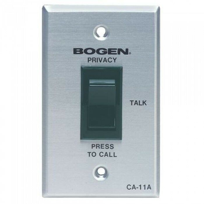 Bogen CA11A Call Privacy Switch with SCR (Call Button)