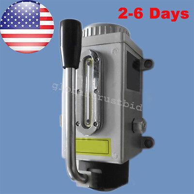 Hand Pump Lubricator Lubricating Lubrication Oil Pump Punching Milling Machine